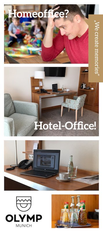 Collage Hotel Office
