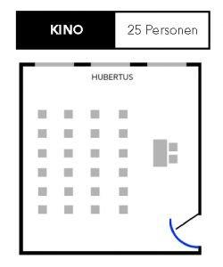Kino Sitzplan